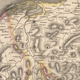 Thomosons map 1832